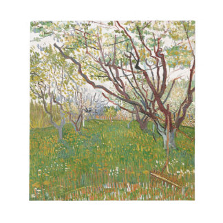 The Flowering Orchard Notepad
