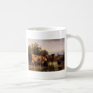 The Ford by Constant Troyon Coffee Mug