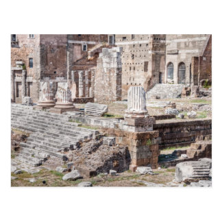 The Forum of Augustus is one of the Imperial Postcard