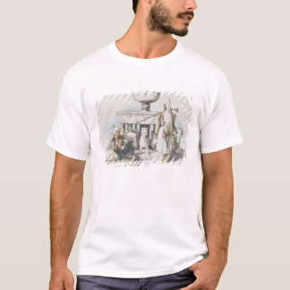 The Fountain of the Lions, Vignette from 'Sketches T-Shirt