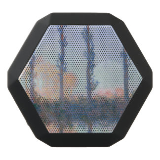 The Four Trees by Claude Monet Black Bluetooth Speaker