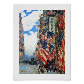"""The Fourth of July"", c.1916. Fine Art Poster"