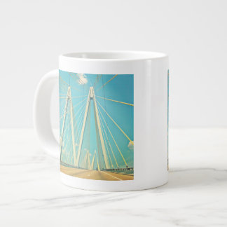 The Fred Hartman Bridge Large Coffee Mug