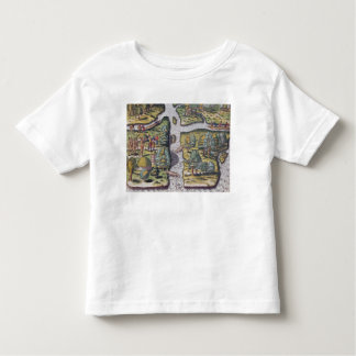 The French left at Fort Charles suffering Toddler T-Shirt