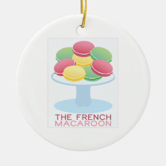 The French Macaroon Christmas Ornament