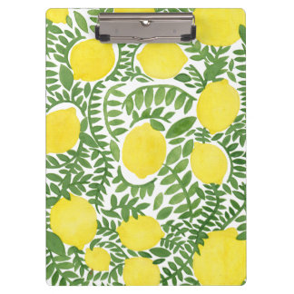 The Fresh Lemon Tree Clipboard