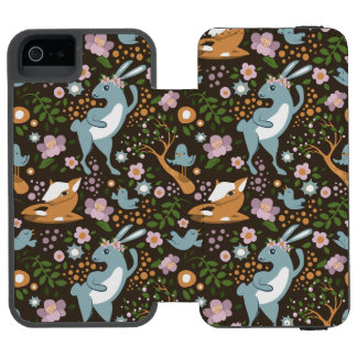The Friendly Forest Incipio Watson™ iPhone 5 Wallet Case