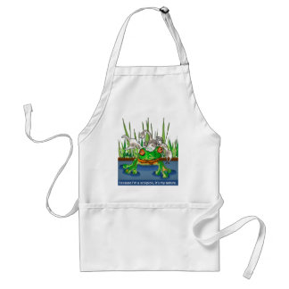 The Frog and Scorpion Standard Apron