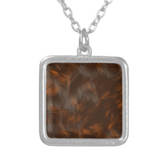 The fur collection - Calico Fur Silver Plated Necklace