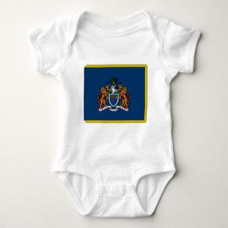 The Gambia President Flag Baby Bodysuit