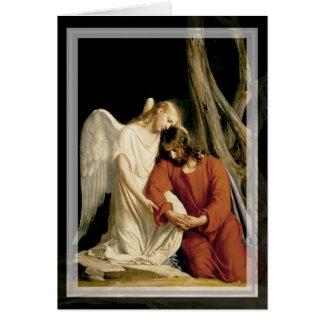 The Garden of Gethsemane (Luke 22:39-46) Card