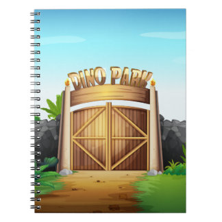 The gate of dino park notebook
