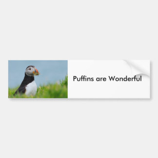 The Gatherer Puffin Bumper Sticker