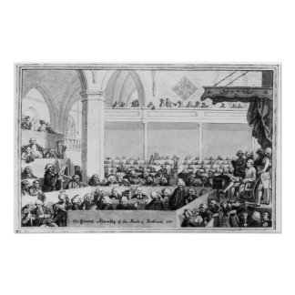 The General Assembly of the Kirk of Scotland Poster