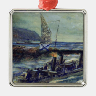 The German u-boat U 56 sunk by Grozovoi Christmas Ornament