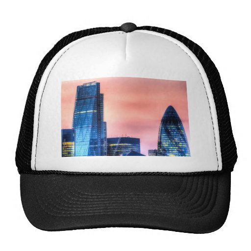The Gherkin and the Cheesgrater London Trucker Hats