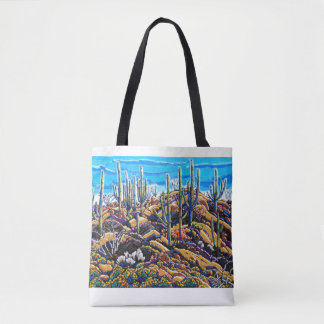 The Giants of the Desert All Over Print Tote Bag