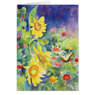 The Gift of the Butterfly Box Note Card