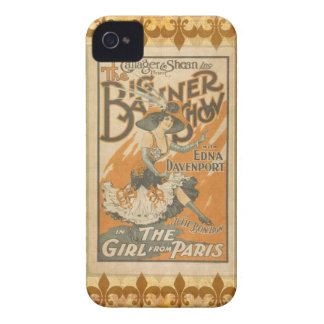 The girl from Paris, vintage iPhone 4 Case-Mate Cases
