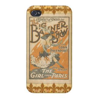 The girl from Paris, vintage iPhone 4/4S Cover