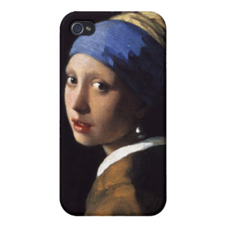 The Girl With A Pearl Earring by Johannes Vermeer iPhone 4/4S Cases