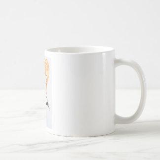 The girl with red hair. coffee mug