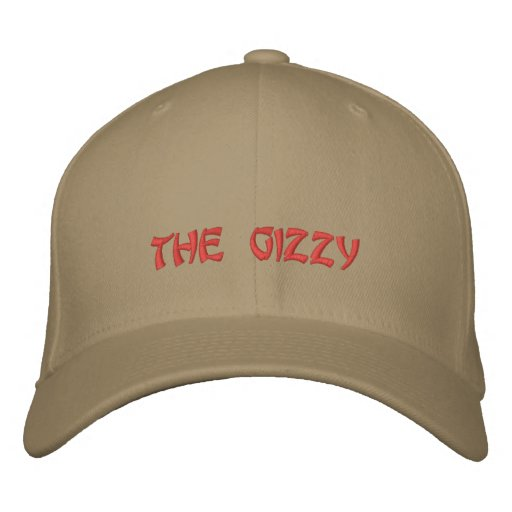 the gizzy embroidered baseball cap