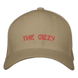 the gizzy embroidered hats