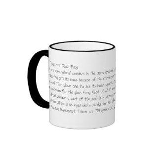 The Glass Frog Ringer Mug