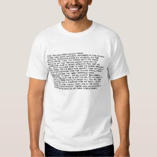 The Glass Frog Tee Shirts