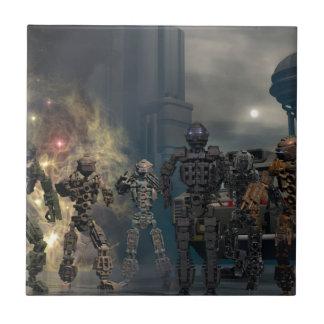 the glorious seven robots b tile
