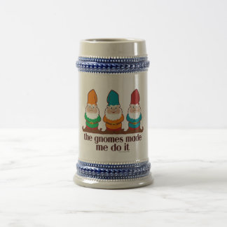 The Gnomes Made Me Do It Coffee Mug