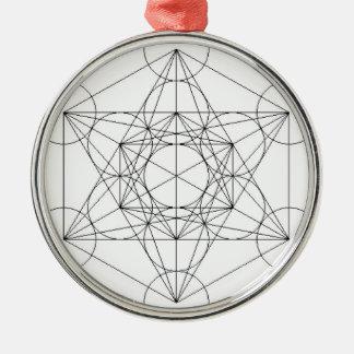 The going fishing faith ' s cube christmas ornament