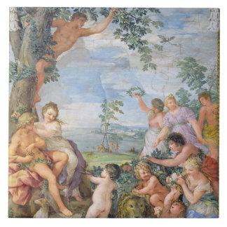 The Golden Age (fresco) Tile