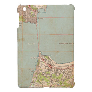 The Golden Gate Topographic Map iPad Mini Case
