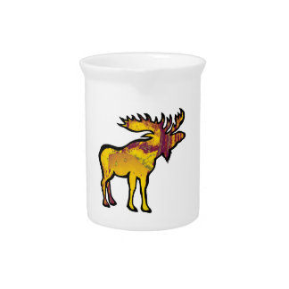 The Golden Moose Pitcher