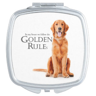 The Golden Rules Compact Mirror