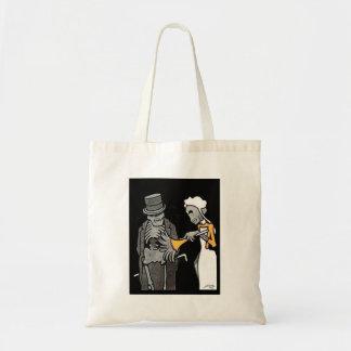 The Good Gentlemen Skeleton Trick or treat Tote Tote Bag
