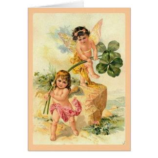 The Good Luck Fairies Card