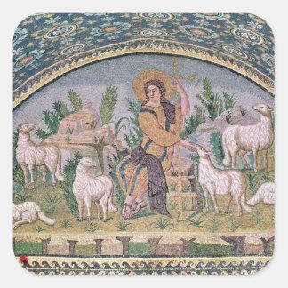 The Good Shepherd Square Sticker