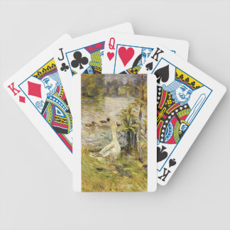 The Goose by Berthe Morisot Bicycle Playing Cards