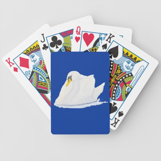 The Graceful Swan Playing Cards