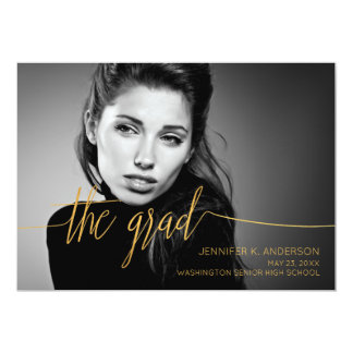 The Graduate Too Golden Type Card