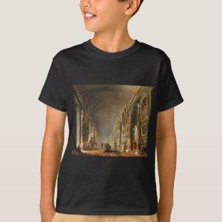 The Grande Galerie by Hubert Robert T-Shirt
