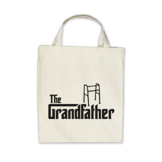 The Grandfather Canvas Bags