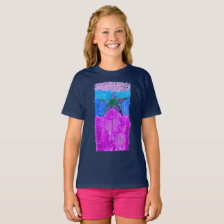 """The """"Graphic Star"""" T for girls, by Luka Myers T-Shirt"""