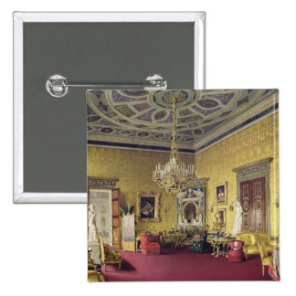The Great Agate Hall in the Catherine Palace 15 Cm Square Badge