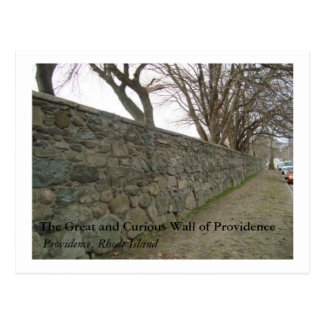 The Great and Curious Wall of Providence Postcards