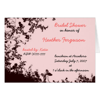 the great bridal shower greeting card