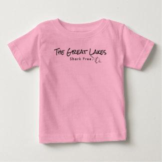 The Great Lakes - shark free Baby T-Shirt